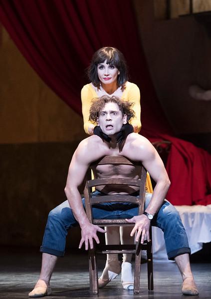 'Le Jeune Homme et la Mort' Ballet performed by English National Ballet at the London Coliseum, UK
