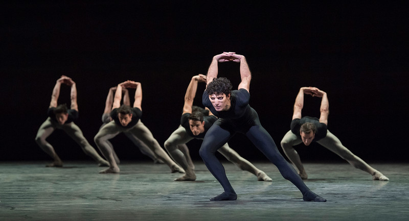 'Song of the Earth' Ballet performed by English National Ballet at the London Coliseum, UK