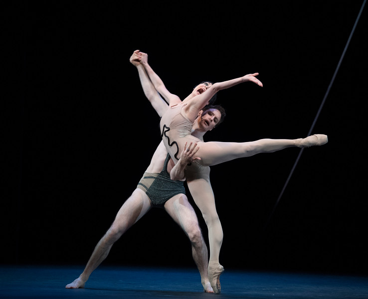 'Voices of America'  Bill of Dance performed by English National Ballet at Sadler's Wells Theatre, London, UK