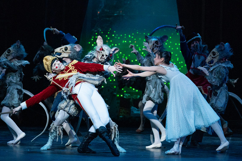 'Tha Nutcracker' Ballet performed by English National Bsllet at the London Coliseum UK