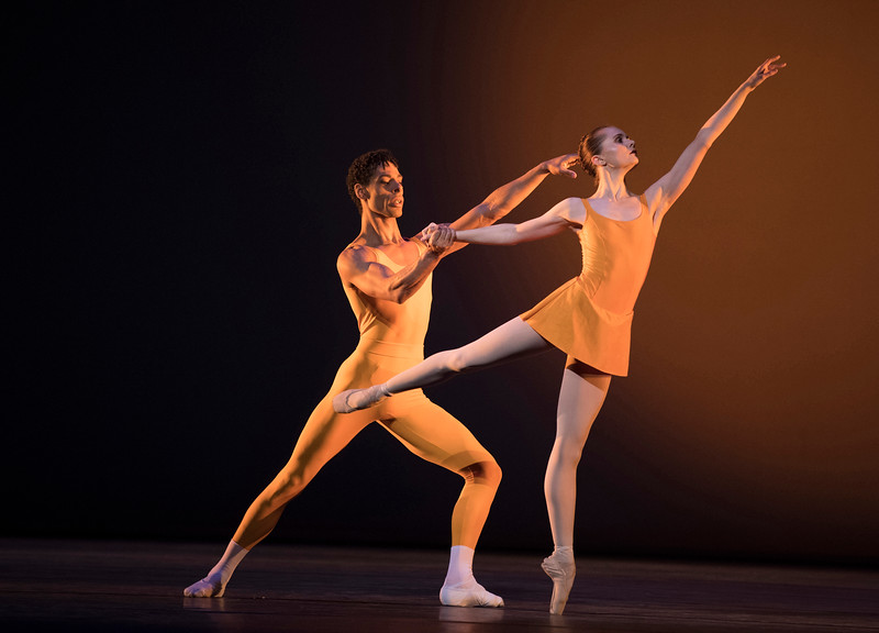 'Concerto' Ballet performed by Birmingham Royal Ballet as part of 'Kenneth MacMillan: A National Celebration' at the Royal Opera House, London, UK