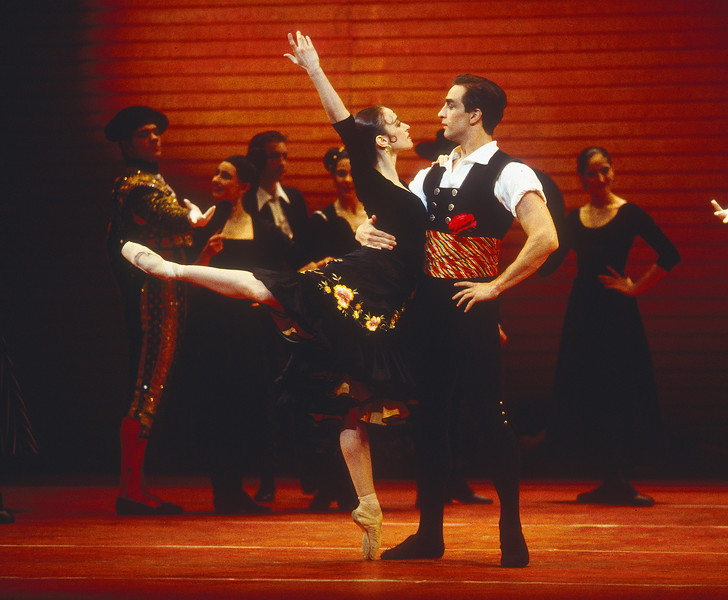'Don Quixote' Ballet performed by the Royal Ballet at the Royal Opera House, London, UK 1993