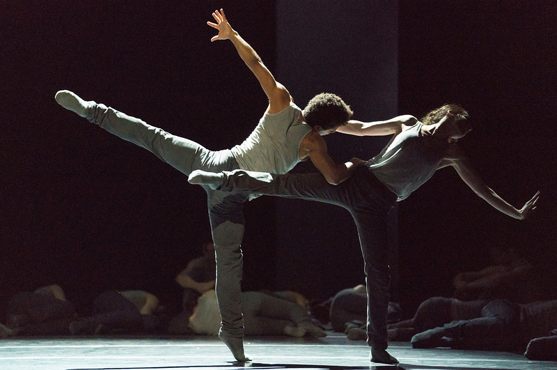 'Flight Pattern' Ballet performed by the Royal Ballet at the Royal Opera House, London, UK
