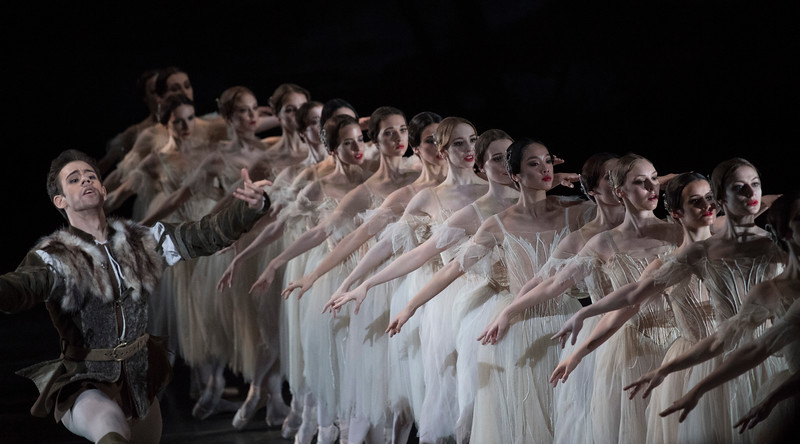 'Giselle' Ballet Performed by the Royal Ballet, London, UK