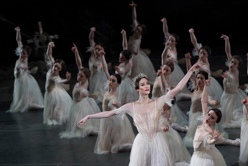'Giselle' Ballet Performed by the Royal Ballet, London, UK