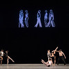 'Infra' Ballet choreographed by Wayne McGregor, Performed by the Royal Ballet at the Royal Opera House, London, UK