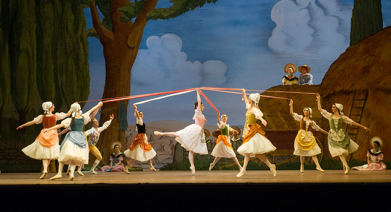 'La Fille Mal Gardee' Ballet performed by the Royal Ballet at the Royal Opera House, London, UK