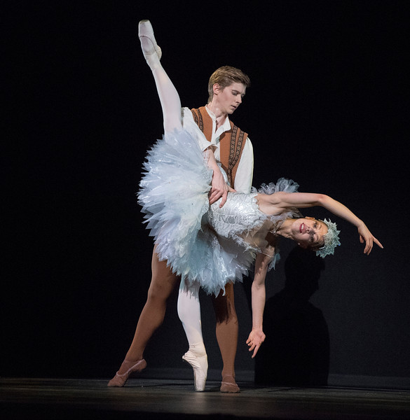 'Le Baiser de la Fee' Ballet performed by Scottish Ballet as part of 'Kenneth MacMillan: A National Celebration' at the Royal Opera House, London, UK