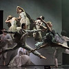 'Les Enfants Terribles' Dance performed by the Royal Ballet at the Barbican Theatre, London, UK