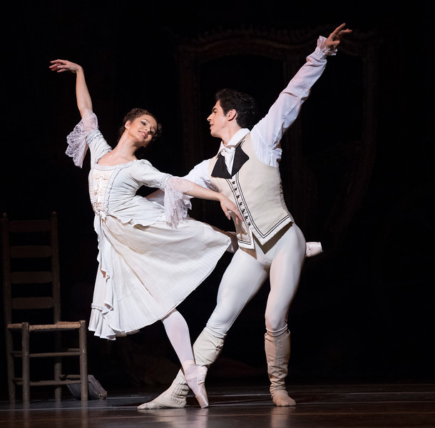'Manon' Performed by the Royal Ballet at the Royal Opera House, London, UK