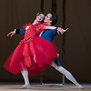 'Marguerite and Armand Ballet performed by the Royal Ballet at the Royal Opera House, London, UK
