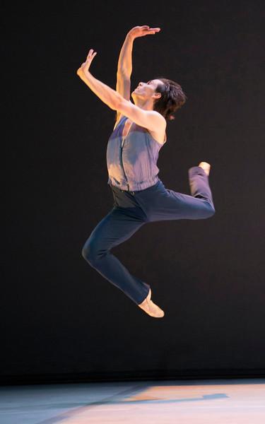 """Merce Cunningham Centennial' Dance performed in the Linbury Theatre, Royal Opera House, London, UK"