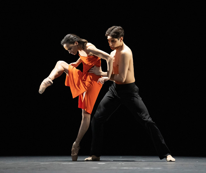 Morgen.  Ballet performed by the Royal Ballet at the Royal Opera House, London, UK