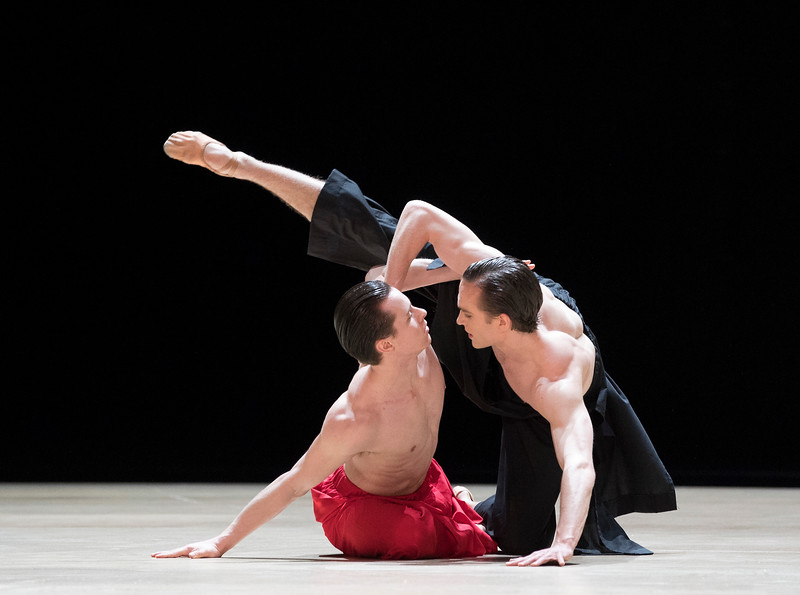 'Obisidian Tear' Ballet performed by the Royal Ballet at the Royal Opera House, London, UK