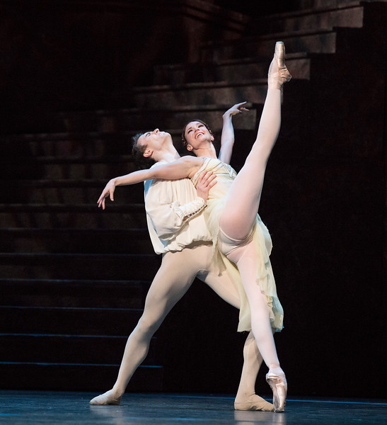 """""""Romeo and Juliet' Performed by the Royal Ballet at the Royal Opera House, London, UK"""