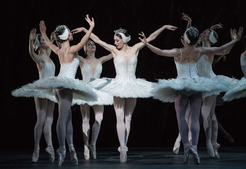 'Swan Lake' Ballet performed by the Royal Ballet at the Royal Opera House, London, UK