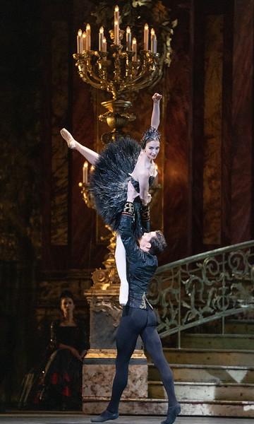 'Swan Lake' performed by the Royal Ballet at the Royal Opera House, London, UK