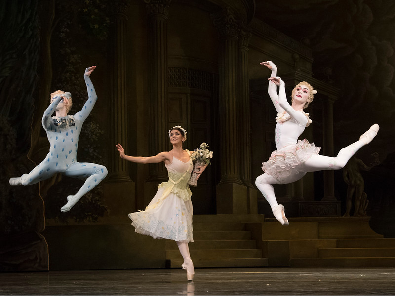 'Sylvia' Ballet performed by the Royal Ballet at the Royal Opera House, London, UK