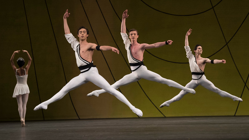 'Symphonic Variations' Ballet performed by the Royal Ballet at the Royal Opera House, London, UK