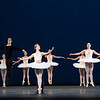 'Symphony in C' Ballet choreographed by Balanshine, Performed by the Royal Ballet at the Royal Opera House, London, UK