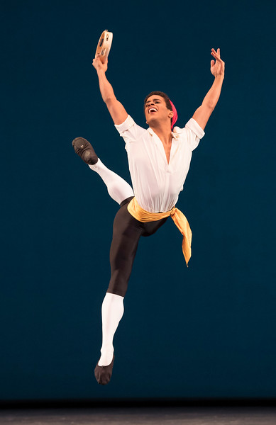 'Tarantella' Ballet performed by the Royal Ballet at the Royal Opera House, London, UK