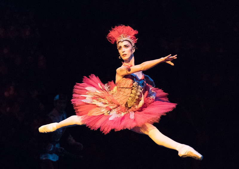 'The Firebird' Ballet performed by the Royal Ballet, Royal Opera House, London, UK