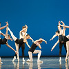 'The Four Temprements' Ballet performed by the Royal Ballet at the Royal Opera House, London, UK