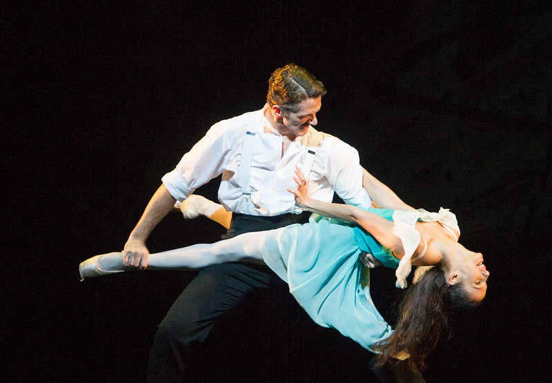 'The Invitation' Ballet Choreographed by Kenneth MacMillan, performed by the Royal Ballet at the Royal Opera House, London, UK
