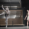 'The Wind' Dance choreographed by Arthur Pita performed by the Royal Ballet at the Royal Opera House, London, UK