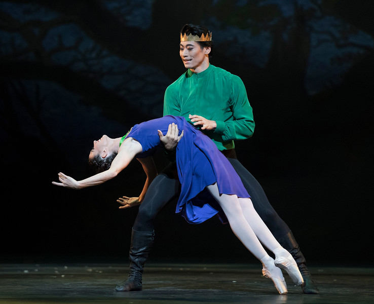 'The Winter's Tale' Ballet Choreographed by Christopher Wheeldon performed by the Royal Ballet at the Royal Opera House, London, UK