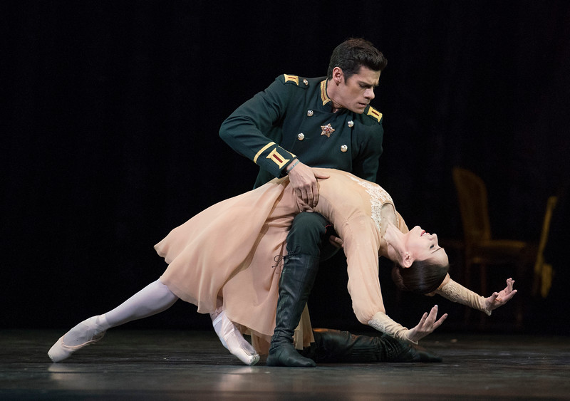 'Winter Dreams' performed by the Royal Ballet at the Royal Opera House, London, UK