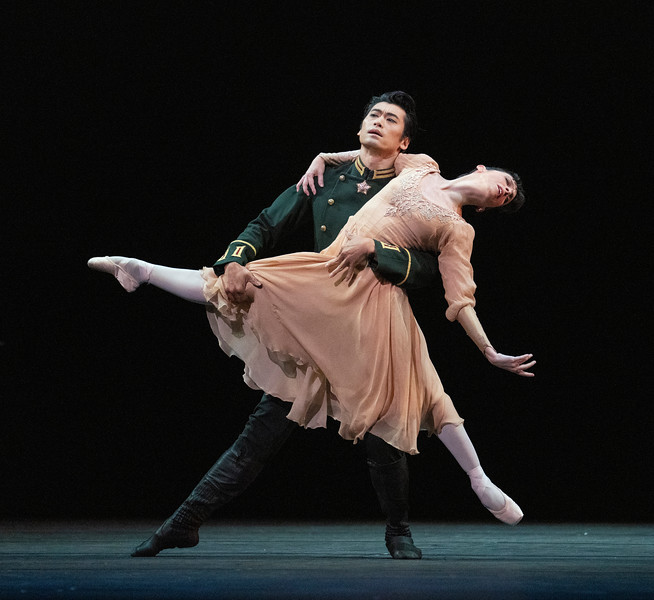 Winter Dreams  Ballet performed by the Royal Ballet at the Royal Opera House, London, UK