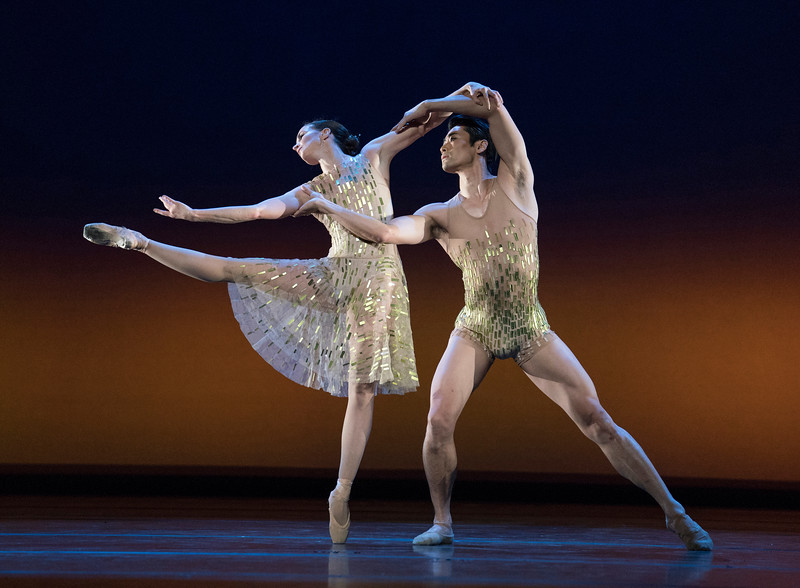 'Whithin the Golden Hour' Ballet by Christopher Wheeldon performed by the Royal Ballet at the Royal Opera House, London, UK