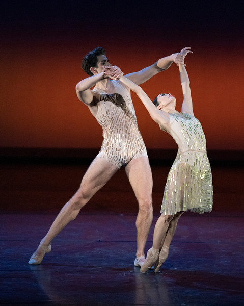 'Within the Golden Hour' Performed by the Royal Ballet at the Royal Opera House, London, UK