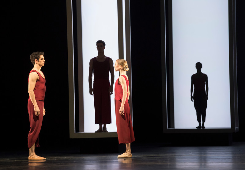 'Yugen' Ballet performed by the Royal Ballet at the Royal Opera House, London, UK