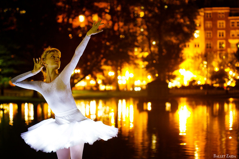 Dancer - Alanna Endahl.<br /> <br /> Location - The Public Garden. Boston, Massachusetts.<br /> <br /> © 2011 Oliver Endahl