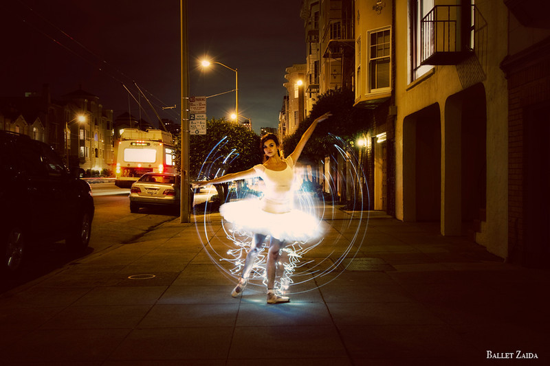 Dancer - Hannah Foster.<br /> <br /> Location - San Francisco, California.<br /> <br /> © 2010 Oliver Endahl