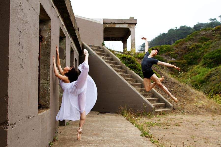 Dancers - Chisako Oga & Aaron Renteria.<br /> <br /> Location - San Francisco, California. <br /> <br /> © 2013 Oliver Endahl