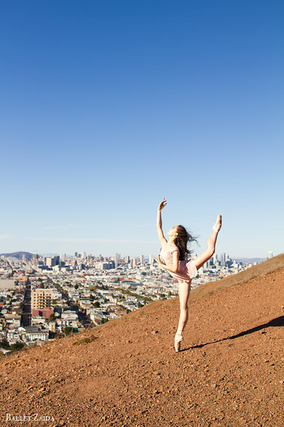 Dancer - Natasha Sheehan. <br /> <br /> Location - San Francisco, California.<br /> <br /> © 2013 Oliver Endahl