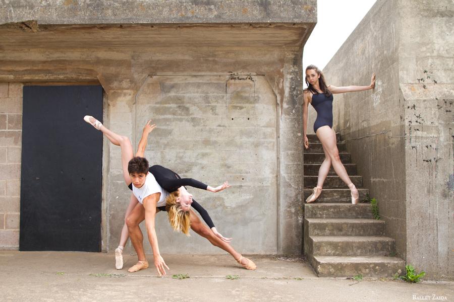 Dancers - Steven Morse, Nicole Voris & Jordan Hammond. <br /> <br /> Location - San Francisco, California.<br /> <br /> © 2013 Oliver Endahl