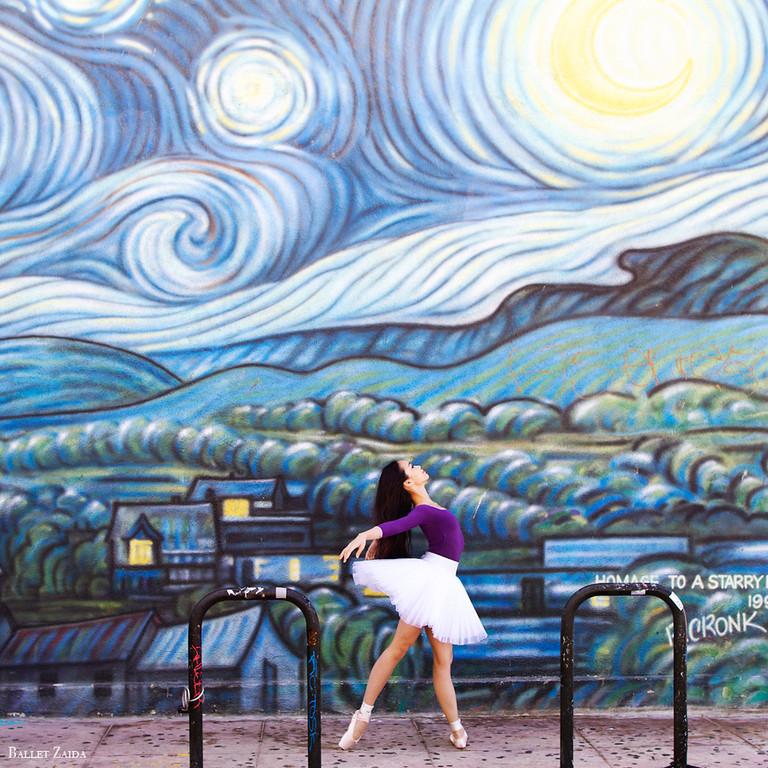 Dancer - Jessica He.<br /> <br /> Location - Venice, California.<br /> <br /> © 2013 Oliver Endahl