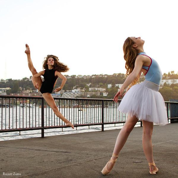 Dancers - Tess Voelker & Mara Milner.<br /> <br /> Location - Seattle, Washington. <br /> <br /> © 2013 Oliver Endahl
