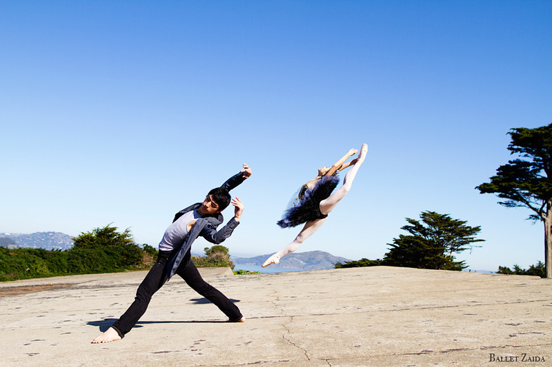 Dancers - Erik DeBono & Miko Fogarty.<br /> <br /> Location - San Francisco, California.<br /> <br /> © 2013 Oliver Endahl
