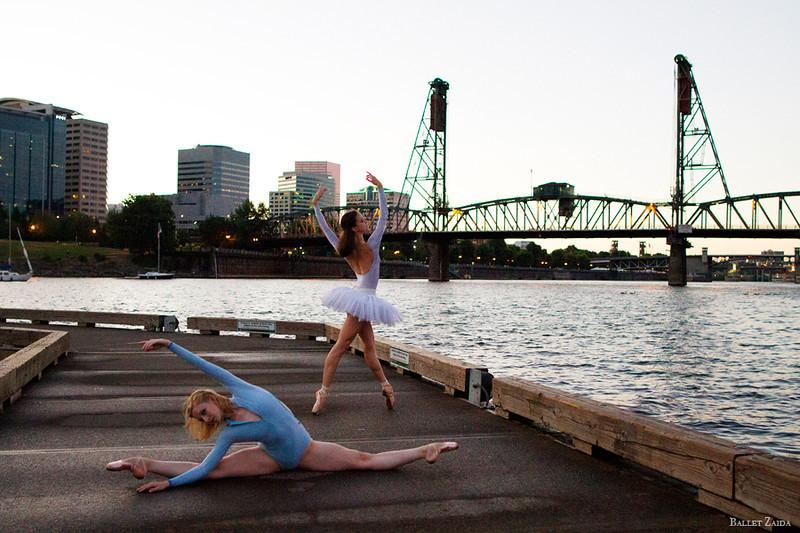 Dancers - Jessica Lind & Elizabeth Lloyd.<br /> <br /> Location - Portland, Oregon.<br /> <br /> © 2013 Oliver Endahl