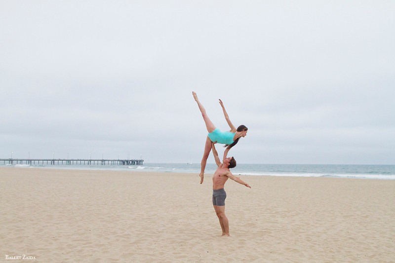 Dancers - Deanna Karlheim & Christopher Sellars. <br /> <br /> Location - Venice, California.<br /> <br /> © 2013 Oliver Endahl