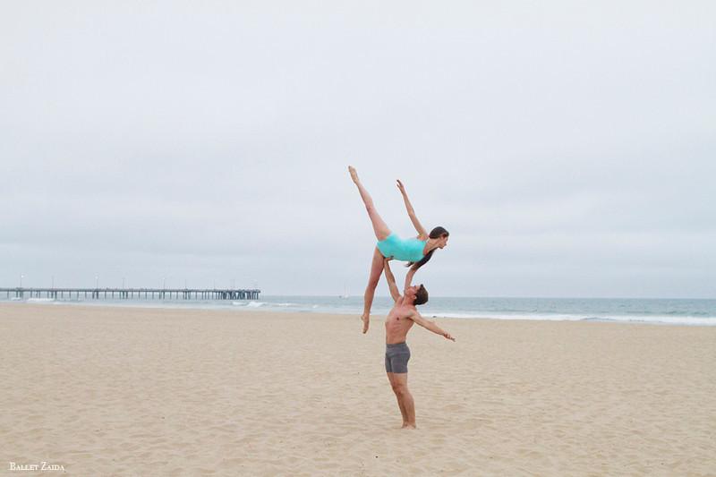 Dancers - Deanna Karlheim & Christopher Sellars. <br /> <br /> Location - Venice, California.<br /> <br /> © 2013 Oliver Endahl