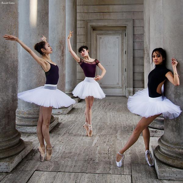 Dancers - Koto Ishihara,  Emma Rubinowitz, & Jeraldine Mendoza.<br /> <br /> Location - The Legion of Honor. San Francisco, California.<br /> <br /> © 2012 Oliver Endahl