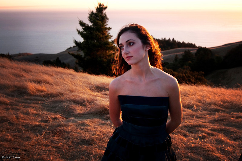 Dancer - Ellen Rose Hummel.<br /> <br /> Location - Mount Tamalpais. Mill Valley, California.<br /> <br /> © 2011 Oliver Endahl