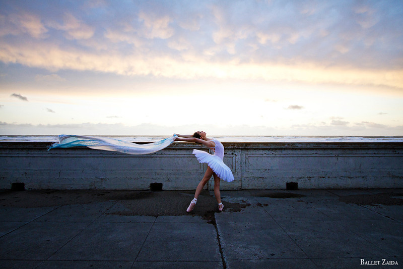 Dancer - Natasha Sheehan.<br /> <br /> Location - Ocean Beach. San Francisco, California.<br /> <br /> © 2012 Oliver Endahl