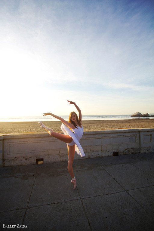 Dancer - Angelica Tilton.<br /> <br /> Location - Ocean Beach. San Francisco, California.<br /> <br /> © 2012 Oliver Endahl